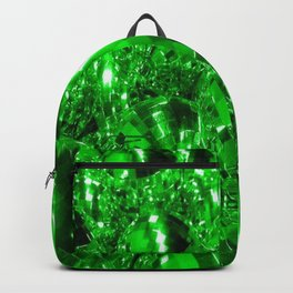 Green Ornaments Backpack