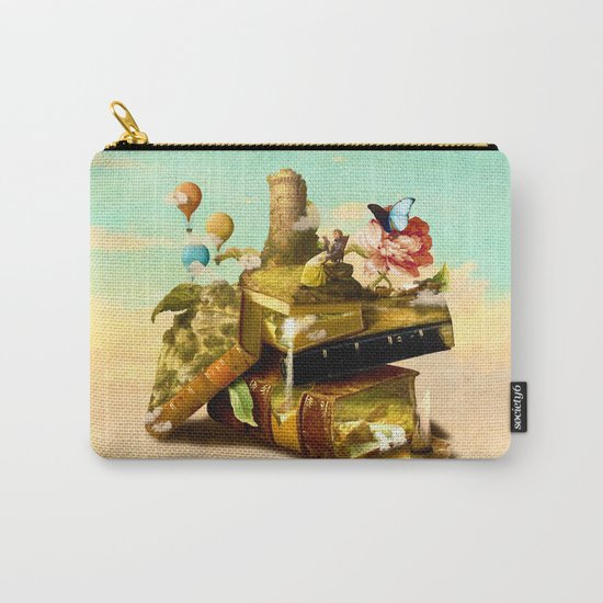 To Lands Away Carry-All Pouch