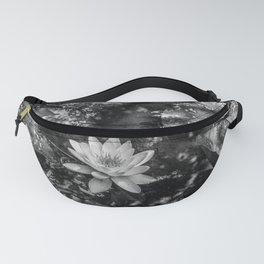 Water lily in a pond Fanny Pack