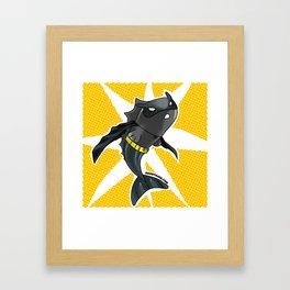 The Batfish Framed Art Print