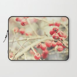 Beautiful Red Berries in the Sunshine Laptop Sleeve