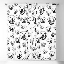 LABRADOR DOG LOVERS GIFTS,GIFT WRAPPED FOR CHRISTMAS Blackout Curtain