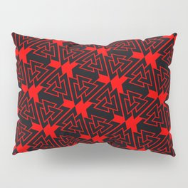 Valknut Pattern Pillow Sham