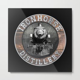 Ironhorse Distillery Metal Print