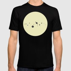 Solar System (you are here) Strings Mens Fitted Tee Black MEDIUM