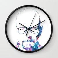 heisenberg Wall Clocks featuring Heisenberg by NKlein Design