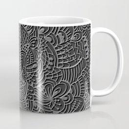 Pattern Emboss Coffee Mug