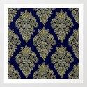 Ornate Vintage Pattern by julieerindesigns