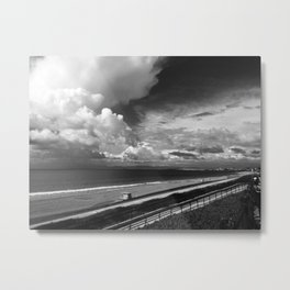 Torrance Beach Metal Print