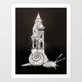 Ivory tower Art Print