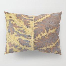 Leaf Macro Abstract Pillow Sham
