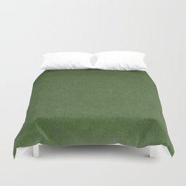Sage Green Velvet texture Duvet Cover
