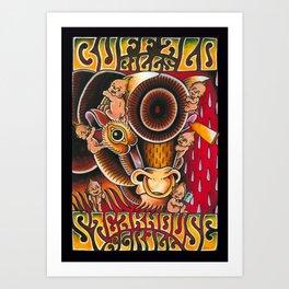 Buffalo Bill Steakhouse and grill Art Print