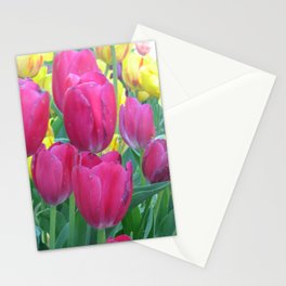 Sweet Spring Tulips Stationery Cards