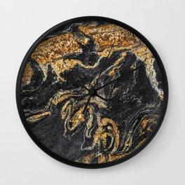 Granite Pattern 5 Wall Clock