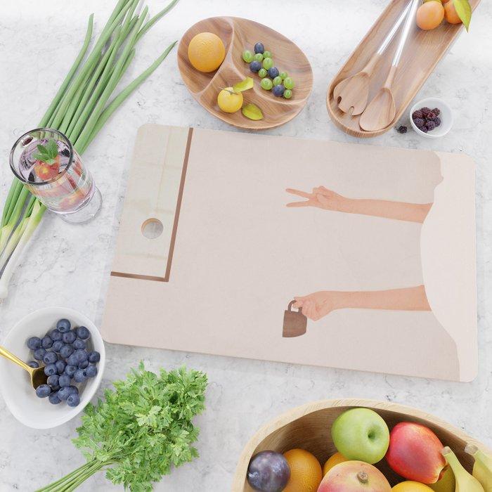 Good Peaceful Morning Cutting Board