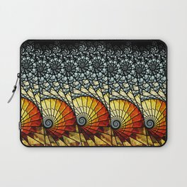 Billow - Abstract Fractal Artwork Laptop Sleeve