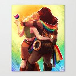 Xena Pride Canvas Print