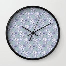 Lilium Speciosum Wall Clock