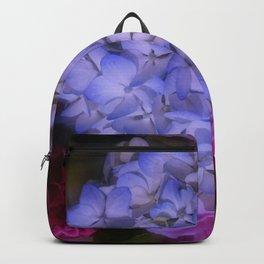 Hydrangea Arrangement II (Blue Tint) Backpack