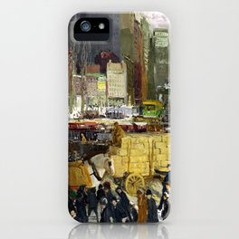 George Bellows - New York (new color edit) iPhone Case