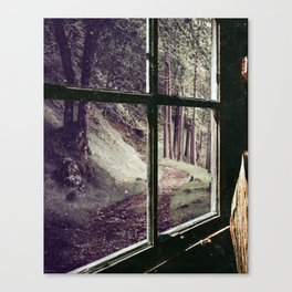 Window to the Forest Canvas Print