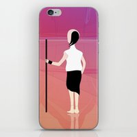 scott pilgrim iPhone & iPod Skins featuring Pilgrim by IOSQ