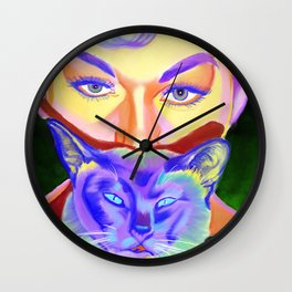 Bell Book and Candle Wall Clock