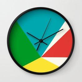 Shifting Perspective Wall Clock