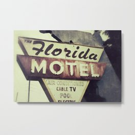 Florida Road Trip Metal Print