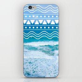 Ocean Doodles iPhone Skin