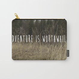 Adventure Is Worthwhile  Carry-All Pouch