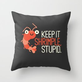 The Prawn Principle Throw Pillow