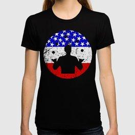 American Flag Juggling T-shirt
