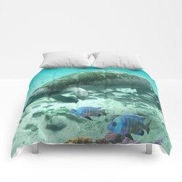 Large  Manatee Comforters