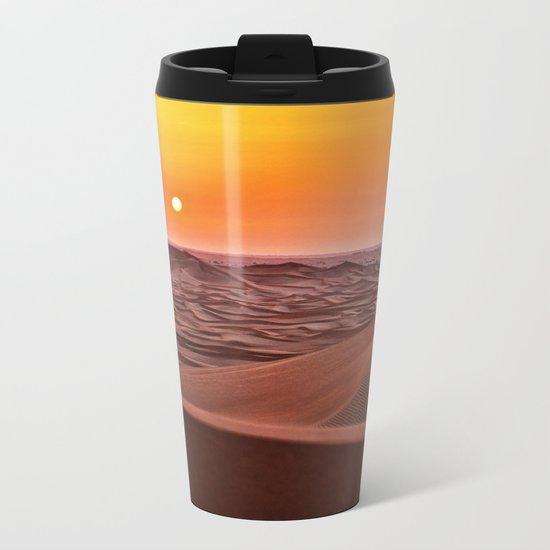 Sun desert 4 Metal Travel Mug