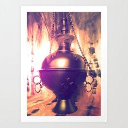 Spiritual Smoke Art Print
