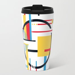 CENTRE w/white Travel Mug