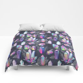 Moths and Crystals Comforters