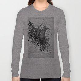 """""""SWIFT"""" Black & White Long Sleeve T-shirt"""