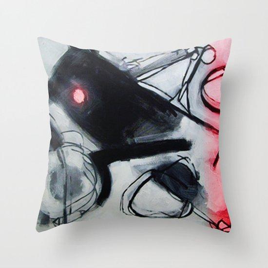 peak hour  Throw Pillow