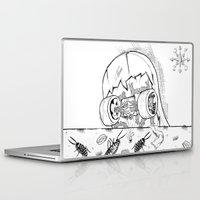 "skate Laptop & iPad Skins featuring ""Skate"" by Jorge Daszkal"