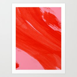 Ambience 023 fire Art Print