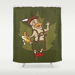 Bratoberfest Shower Curtain