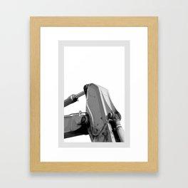 Maschine B/N Framed Art Print