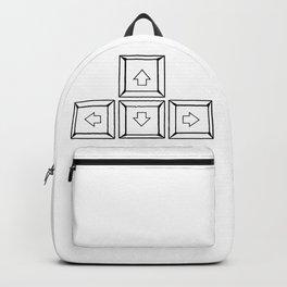 Keyboard Arrows Backpack