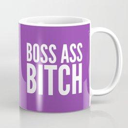 BOSS ASS BITCH (Purple) Coffee Mug