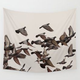 Over my head Wall Tapestry
