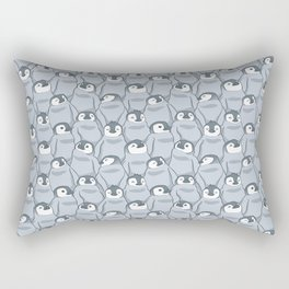 Baby Penguins Rectangular Pillow