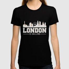 London Is Calling UK Skyline T-shirt